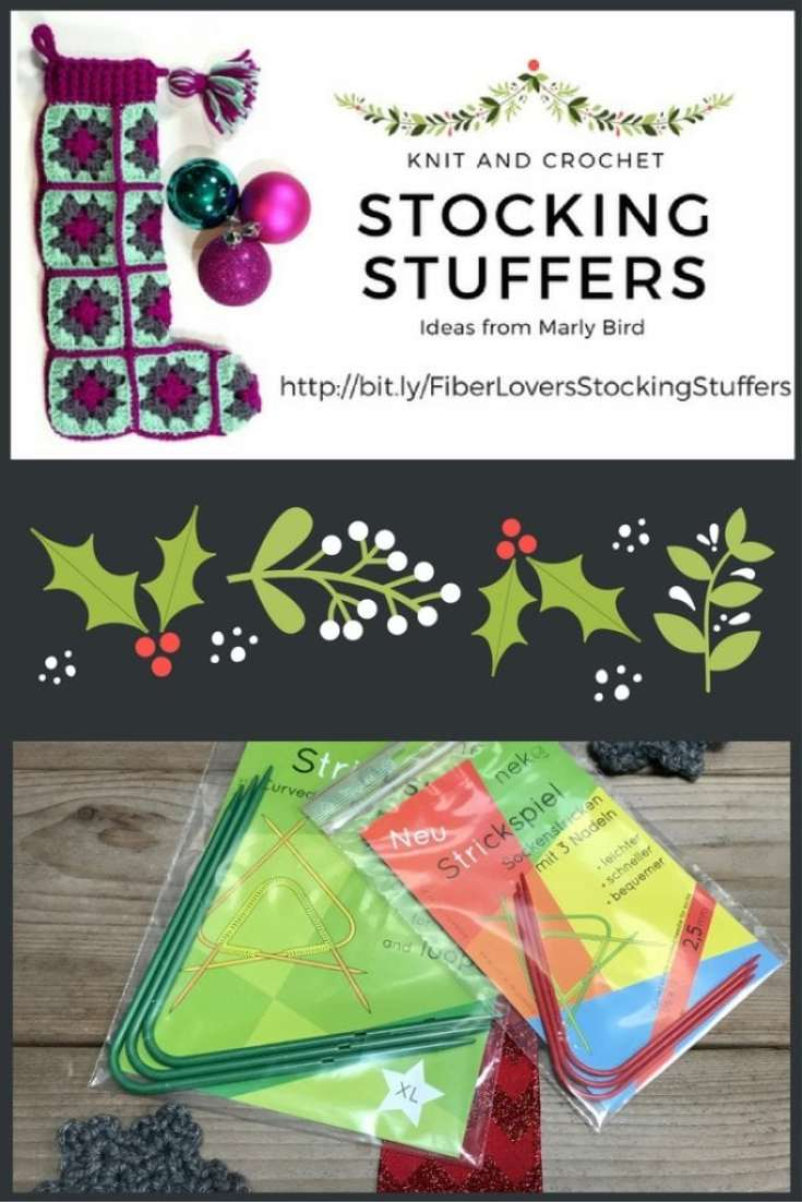 Knit and Crochet Gift Ideas with Neko curved DPN