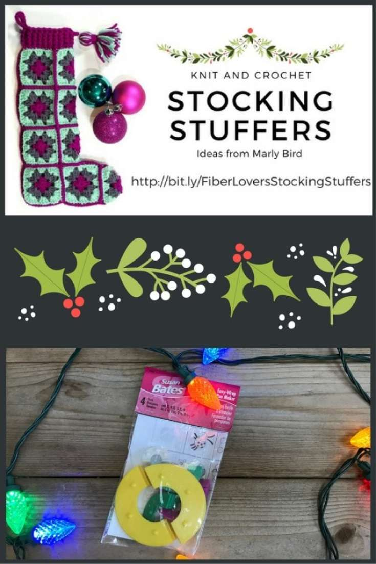 Knit and Crochet Gift Ideas with the Susan Bates Pompom Maker