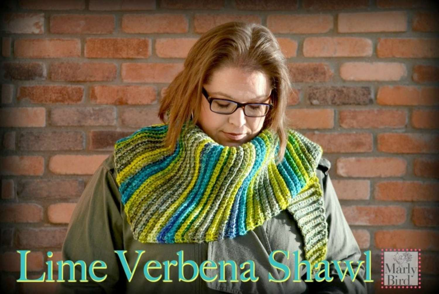 Lime Verbena Shawl by Marly Bird a FREE Crochet Shawl Pattern
