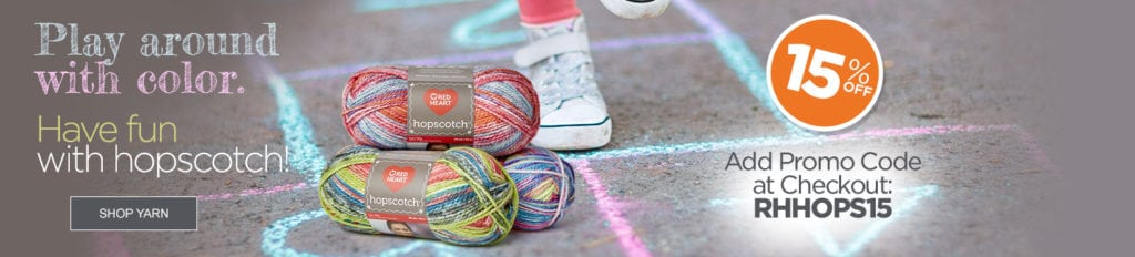 Red Heart Deal of the Week-Hopscotch Yarn