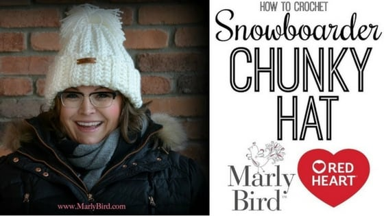 Video Tutorial How to Crochet the Snowboarder Chunky Hat with Marly Bird