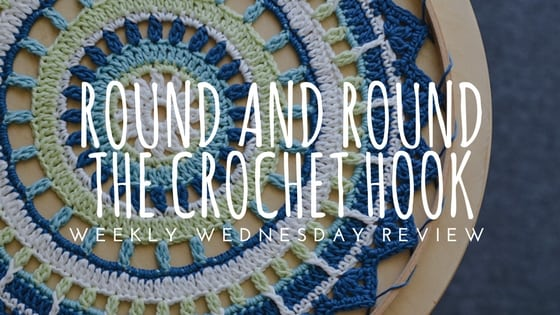 Round and Round the Crochet Hook book Review and giveaway