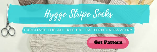 Hygge Stripe Socks