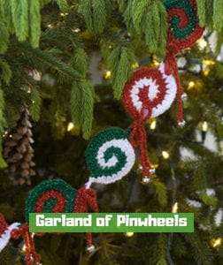 Garland of Pinwheels by Mary Jane Protus