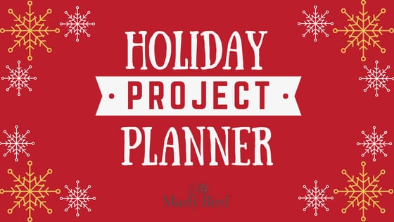 FREE Holiday Project Planner