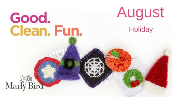 New Scrubby Patterns for the Holiday-FREE patterns from Red Heart Yarn