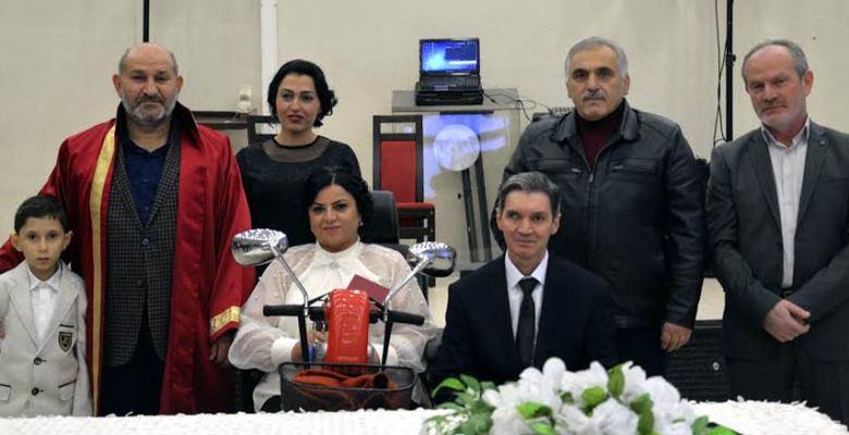 Hendek'te 2015 yılının son nikahı