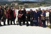 Bayırbucak Türkmenlerine gönderilen yardımlar yetkililere teslim edildi