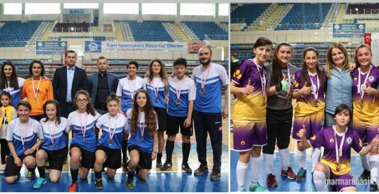 Okul Sporları Futsal Sakarya Grup Birinciliği sona erdi