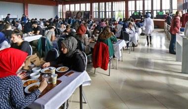SAÜ Öğrenci Yemekhanesinin Kapasitesi Arttı