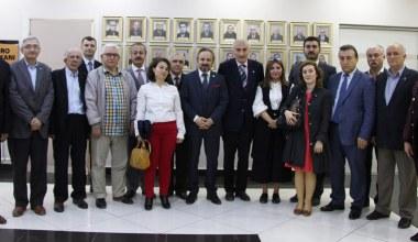 İYİ Partiden Başkan Kazan'a Ziyaret