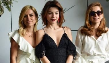 Romantik ve modern stili buluşturan koleksiyon moda dünyasının beğenisine sunuldu
