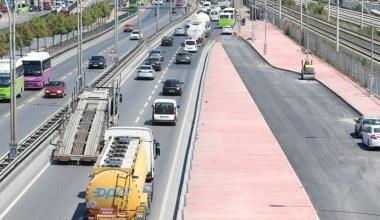 Kocaeli'nde toplu taşıma araçlarının ek şeridi açılıyor