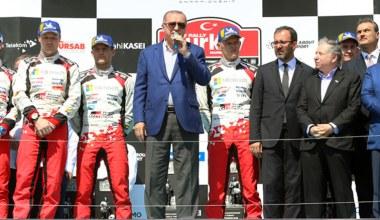 Başkan Erdoğan, Dünya Ralli Şampiyonası ödül törenine katıldı