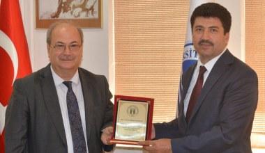 Prof. Dr. Mehmet Sarıbıyık göreve başladı