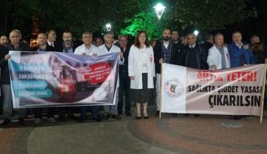 Bursalı doktorlar TBMM'ye sunulan yasa teklifine karşı çıktı