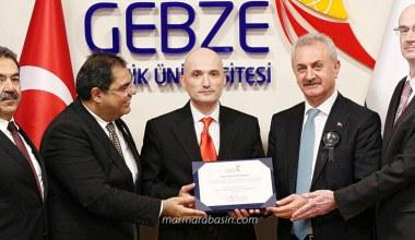 'GTÜ Cesaret Ödülü' Kahraman Subay Karadeniz'e verildi