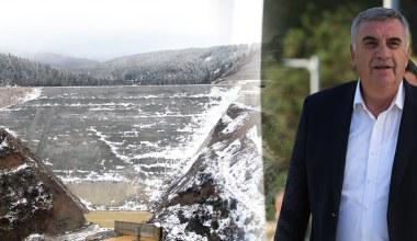 'Akçay Barajı tertemiz kar sularını musluklara ulaştıracak'
