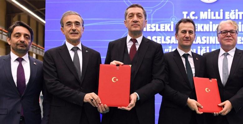Savunma Sanayi Sistemlerine yönelik ilk lise için imzalar atıldı