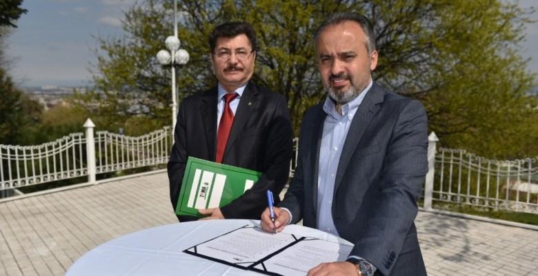 Başkan Aktaş, 'Doğa Dostu Belediye Başkanı Taahhütnamesi'ne imza attı