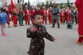 1,5 yaşındaki Yiğit bebek törene damga vurdu