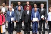 GEPOSB Yüksek Lisans Diplomasını GTÜ'den aldı