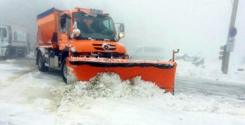 Uludağ'da bahar karı
