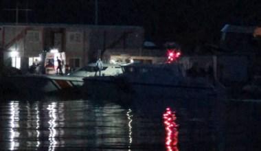 Ayvalık'ta tekne faciasında kayıp olan 3 kişi için hummalı çalışma sürüyor