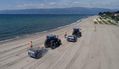 Balıkesir'in mavi bayraklı plajları yaza hazırlanıyor