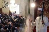 Edirne Ulu (Eski) Cami'nde ecdat yadigârı 'kılıçla hutbe' okunuyor