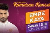 Emre Kaya Antalya'da konser verecek