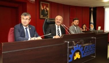 Gebze Belediyesi meclisinde ikinci oturum yapıldı