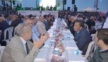 Gemlik Gübre ve Yılport Gemport'tan halk iftarı