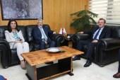Turgay Erdem'den Rektör Kılavuz'a 'hayırlı olsun' ziyareti