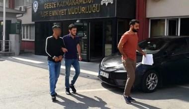 Akaryakıt istasyonunu soyan şahıslar tutuklandı