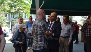 CHP İl Başkanı Sarı'nın Baba acısı