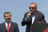"""Cumhurbaşkanı Erdoğan """"Biz ne valimize it dedirtiriz, ne de polisimize şerefsizler dedirtiriz"""""""