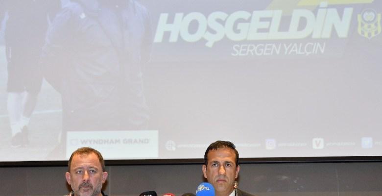 E. Yeni Malatyaspor, Sergen Yalçın ile 1 yıllık sözleşme imzaladı