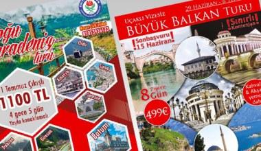 Eğitim-Bir-Sen Sakarya Şubesi Balkanlara götürüyor