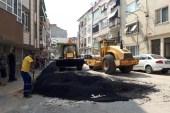 Erdek'te doğalgaz çalışmalarına devam
