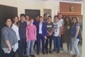 Kaymakam Bayar ile Sapanca METEM öğrencileri bir araya geldi