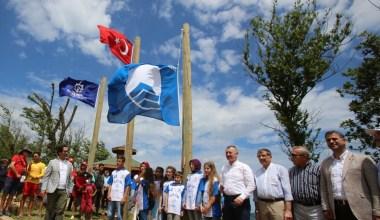 Kocaeli'nin sahilleri 6. mavi bayrağı aldı
