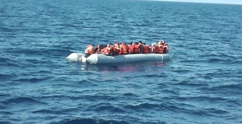 (Özel) Ege'de yakalanan düzensiz göçmen sayısı 10 bini aştı