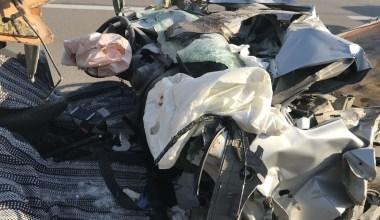 TIR'a çarpan otomobilde korkunç ölüm…Sürücünün kimliği belli oldu