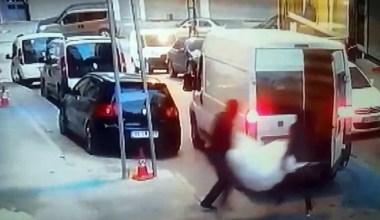 Arnavutköy'de şok eden hırsızlık.. 8 kişi gelip iş yerini soydular