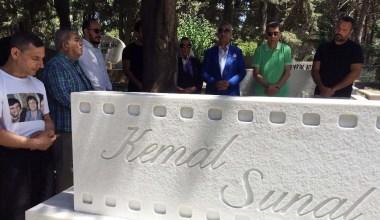 Kemal Sunal vefatının 19'uncu yılında mezarı başında anıldı
