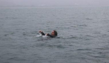 (Özel) AFAD ekipleri Sapanca Gölünde su üstü kurtarma tatbikatı gerçekleştirdi