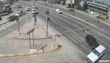 Sakarya'daki kazalar kameraya yansıdı