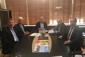 SGB Ankara'da ziyaretlerde bulundu