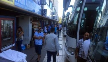 15 Temmuz Demokrasi Otogarı'nda bayram tatili yoğunluğu başladı
